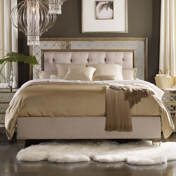 Sanctuary Upholstered Panel Bed by Hooker Furniture