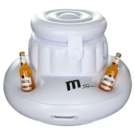 Inflatable Ice Box and Cup Holder by MSPA USA