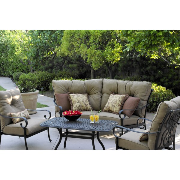 Lanesville 5 Piece Sofa Set with Cushions by Darby Home Co