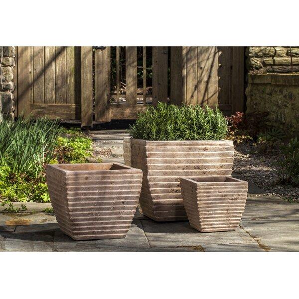 Janice Terra Cotta Pot Planter (Set of 3) by Bloomsbury Market