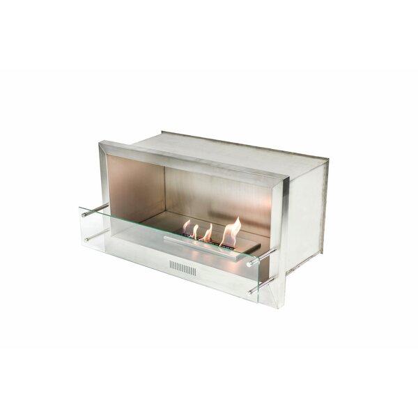 Single Sided Bio-Ethanol Tabletop Fireplace by BioFlame