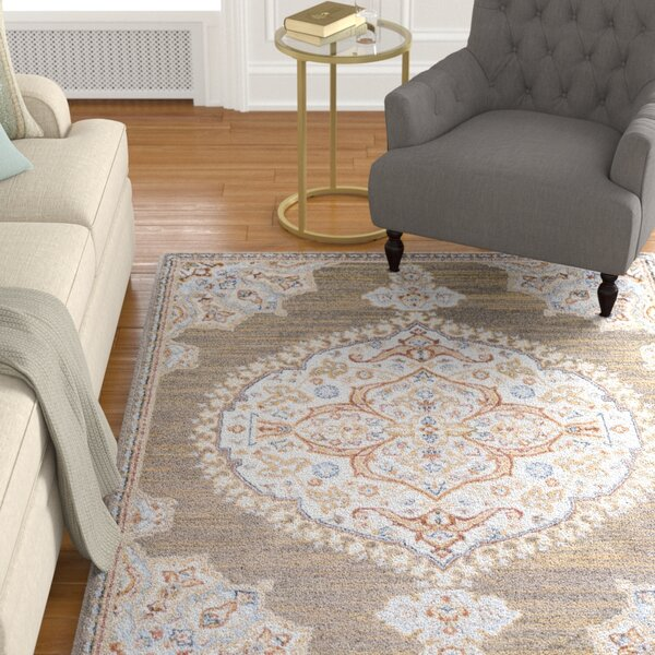 Lenora Classic Camel Area Rug By Charlton Home.