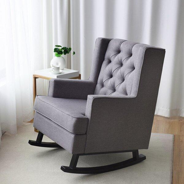 Baldemar Rocking Chair By Ivy Bronx
