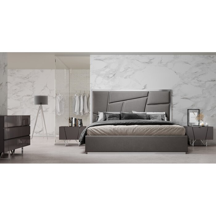 Marisol Modern Queen Platform 3 Piece Bedroom Set