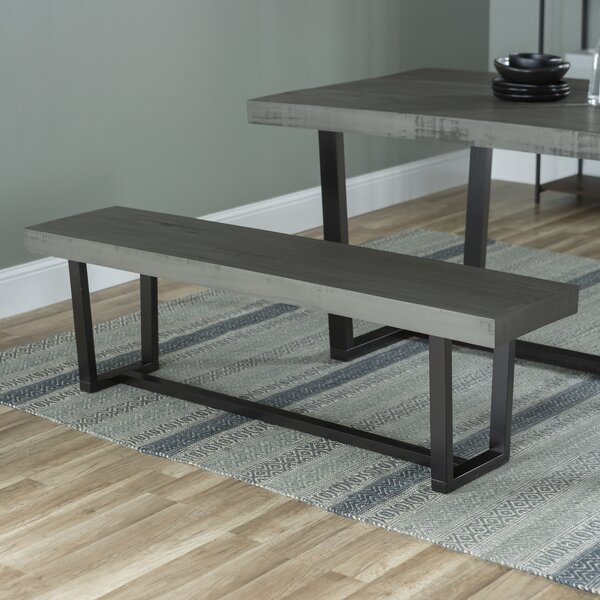 Bremer Wood Bench By Williston Forge