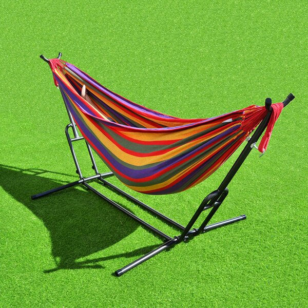 Bellamy Combo Steel Double Hammock with Stand by Freeport Park