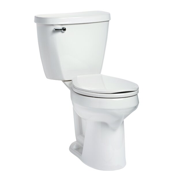 Summit 1.6 GPF Round Two-Piece Toilet by Mansfield Plumbing Products