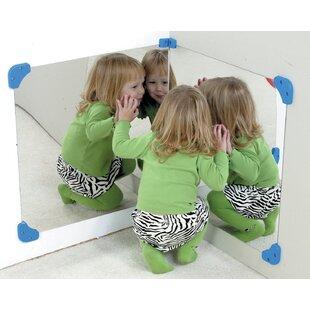 Children's Factory 16 Piece Corner Mirror Set (Set of 2)