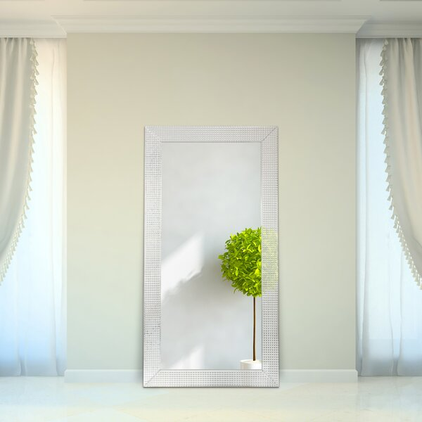 Barratt Beveled Glass Full Length Mirror by Orren Ellis