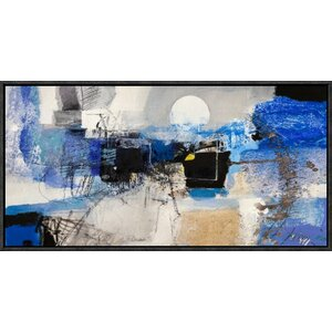 'Moonlight' by Pima Framed Painting Print by Global Gallery