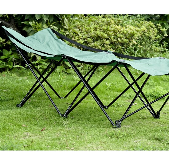 Outsunny Folding Camping Cot by Aosom