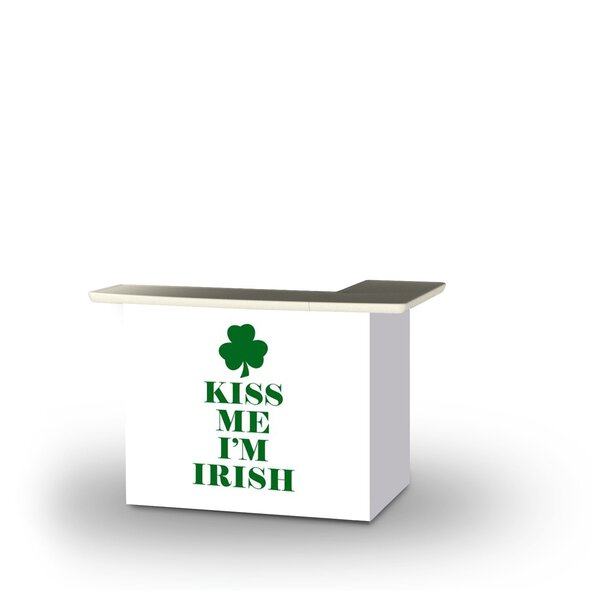 Zoeller St Patricks Day Kiss Me I'm Irish Home Bar by East Urban Home East Urban Home