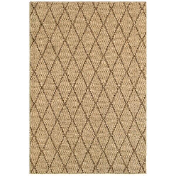 Carondelet Beige Indoor/Outdoor Area Rug by Charlton Home