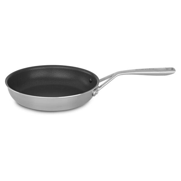 Tri Ply Stainless Steel Non-Stick Frying Pan by KitchenAid
