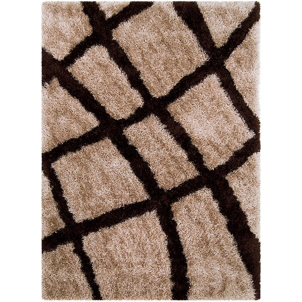 Mocha Area Rug by AllStar Rugs