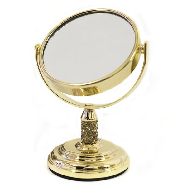 Jules Mini Dual Sided Vanity Mirror by Sweet Home Collection