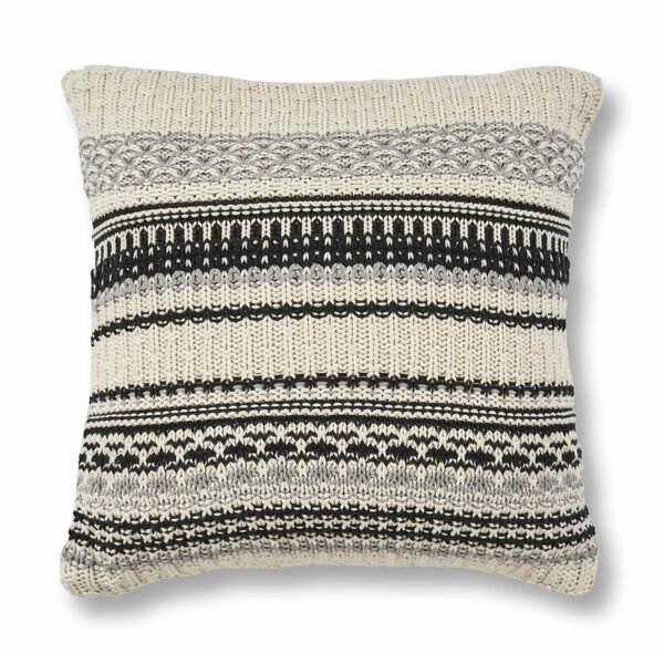 Dunwoody Cotton Throw Pillow by Eider & Ivory