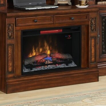 Birkett  40 TV Stand with Electric Fireplace by Astoria Grand