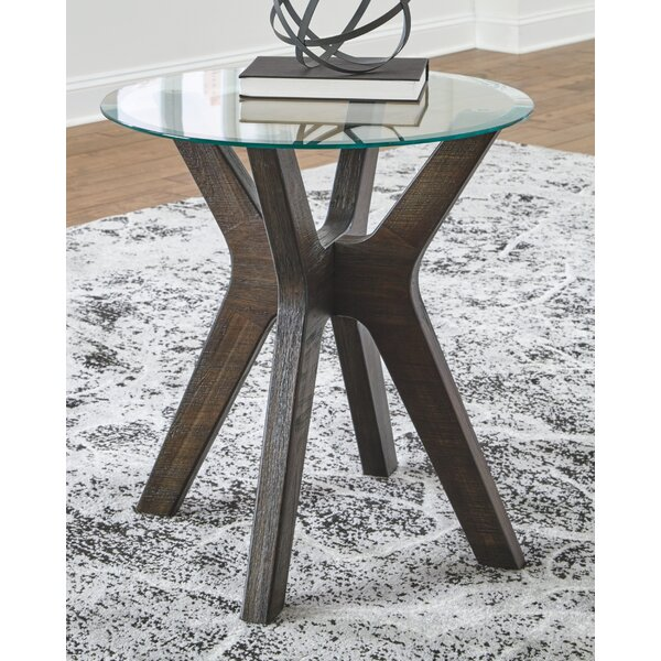 Raffaele End Table By Union Rustic