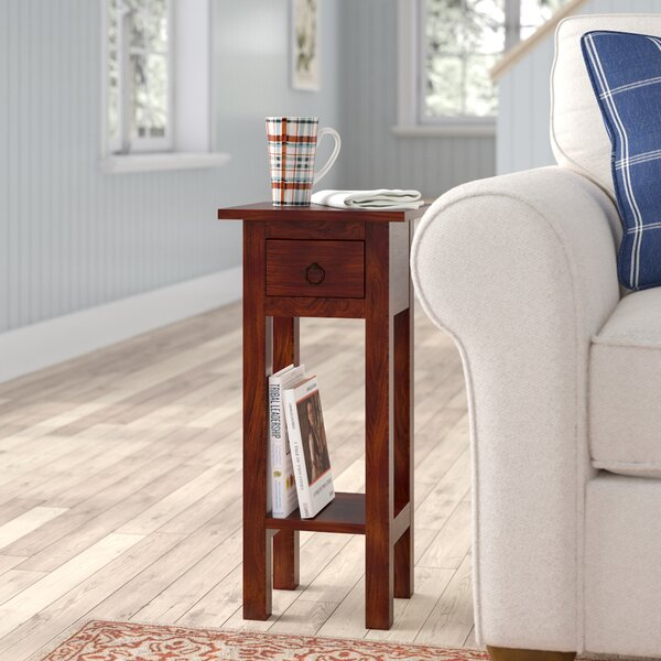 Abigail End Table by August Grove