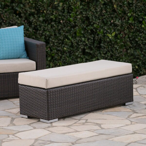 Cabral Wicker Picnic Bench by Sol 72 Outdoor