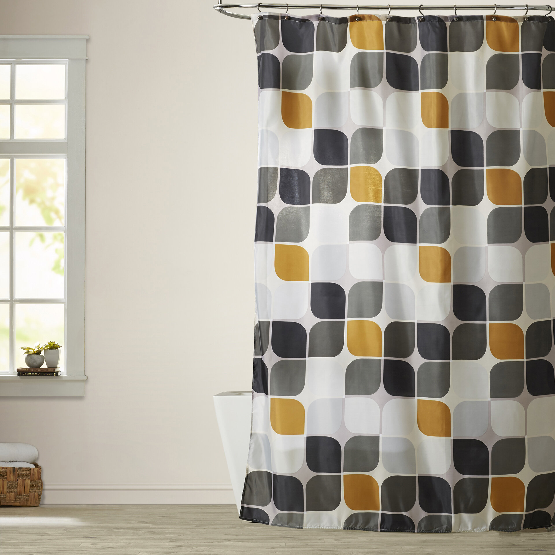 Wade Logan Morales Extra Long Shower Curtain Reviews