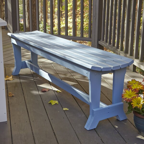 Carolina Preserves Picnic Bench by Uwharrie Chair Uwharrie Chair