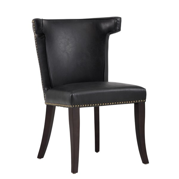 Dopkins Upholstered Dining Chair by Canora Grey Canora Grey