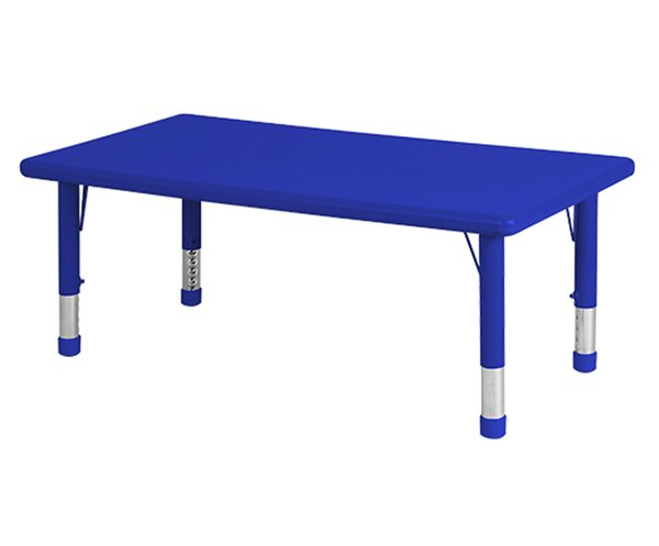 Resin 48 x 24 Rectangular Activity Table by Offex