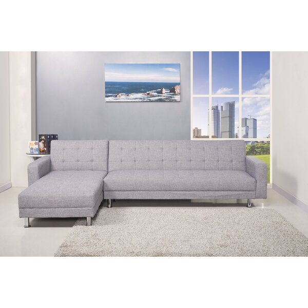 sc 1 st  Wayfair : grey sleeper sectional - Sectionals, Sofas & Couches
