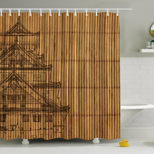 Ambesonne Japanese Reed Print Shower Curtain Reviews