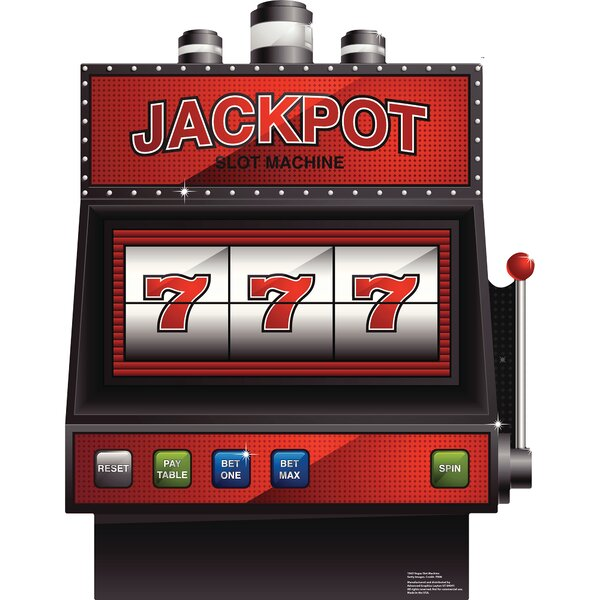 Vegas Slot Machine Cardboard Standup by Advanced Graphics