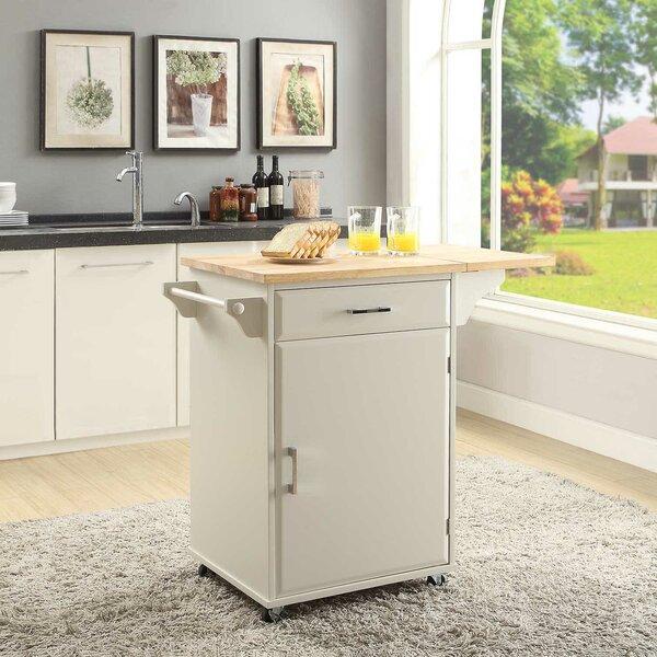Morabito Kitchen Cart by Ebern Designs