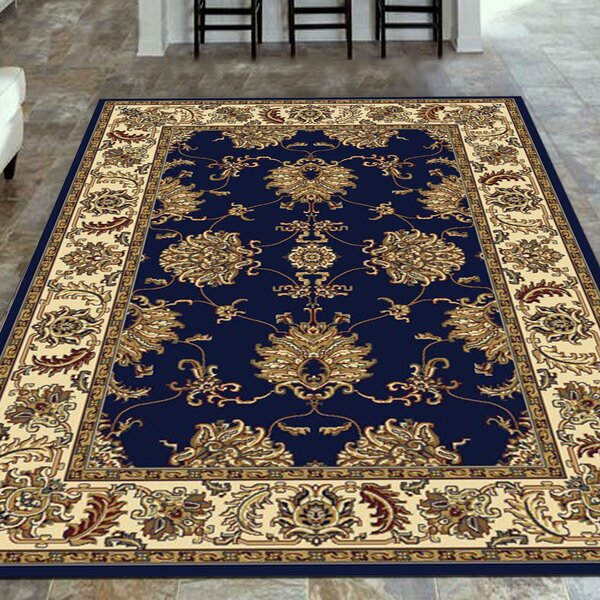 Jefferson Navy Area Rug by The Conestoga Trading Co.