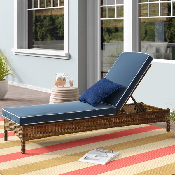 Lawson Reclining Chaise Lounge With Cushions By Birch Lane™ Heritage