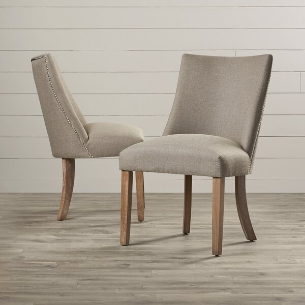 Knaresborough Parsons Chair (Set of 2) by Three Posts