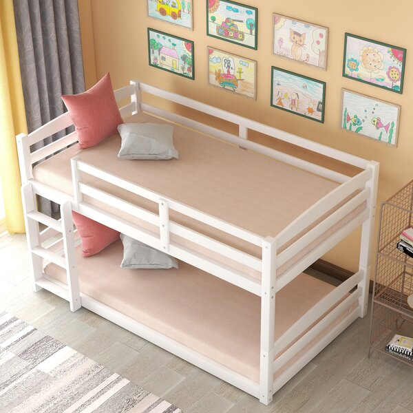 Villard Twin Over Twin Bunk Bed by Red Barrel Studio