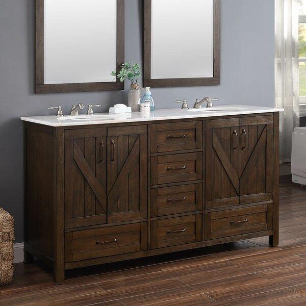 Gedda 62 Double Bathroom Vanity Set