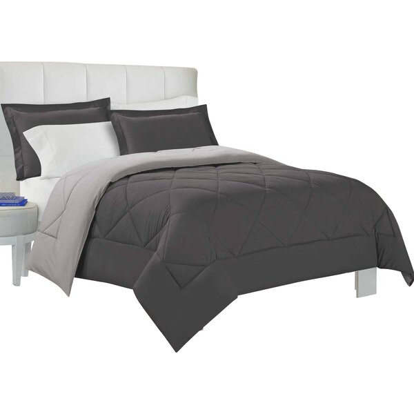 Quintal 3 Piece Reversible Comforter Set by Andove