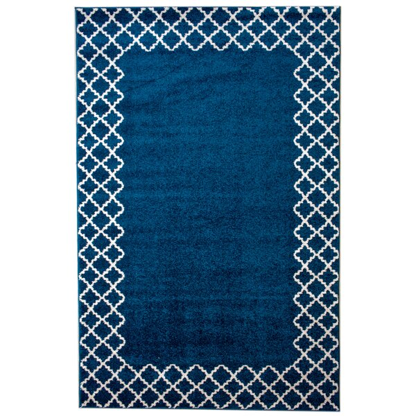 Biggsville Blue Area Rug by Andover Mills