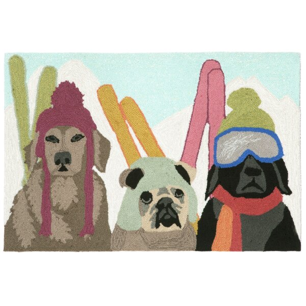 Ski Patrol Multi Indoor/Outdoor Area Rug by The Holiday Aisle