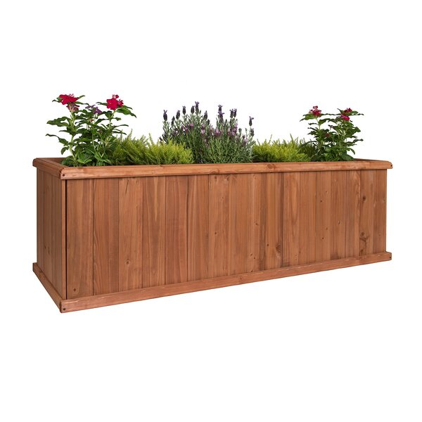Churchill Cedar Planter Box by Greenstone Garden Structures