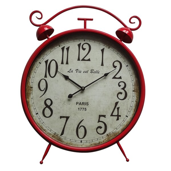 Hunley 17.7 Wall Clock by August Grove
