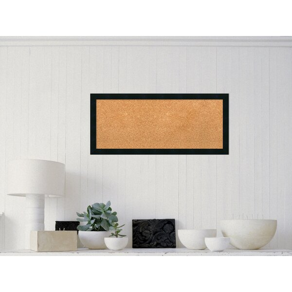 Bovina Wall Mounted Bulletin Board by Alcott Hill