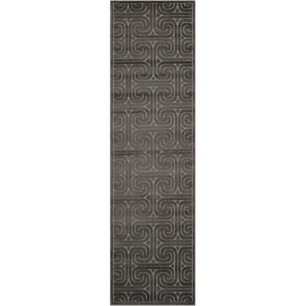Marietta Brown Area Rug by Mercer41