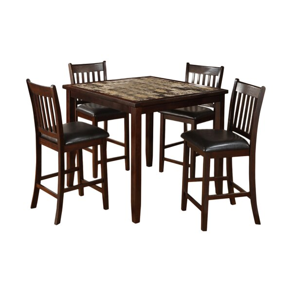 Engles 5 Piece Dining Set by Red Barrel Studio