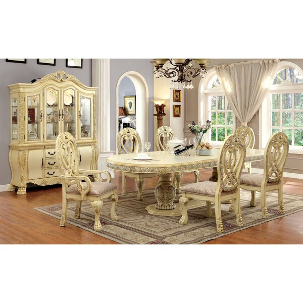 Dolores 9 Piece Dining Set by Hokku Designs