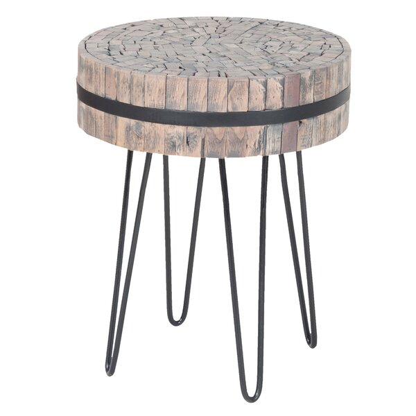 Jubilee Wood End Table By Union Rustic