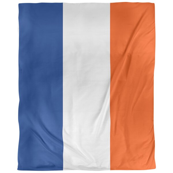 New York Single Reversible Duvet Cover
