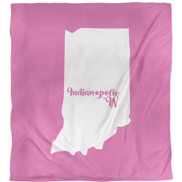 Indiana Indianapolis Single Duvet Cover